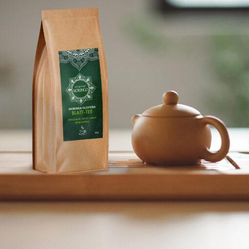 Original Moringo Tee mit Teekanne