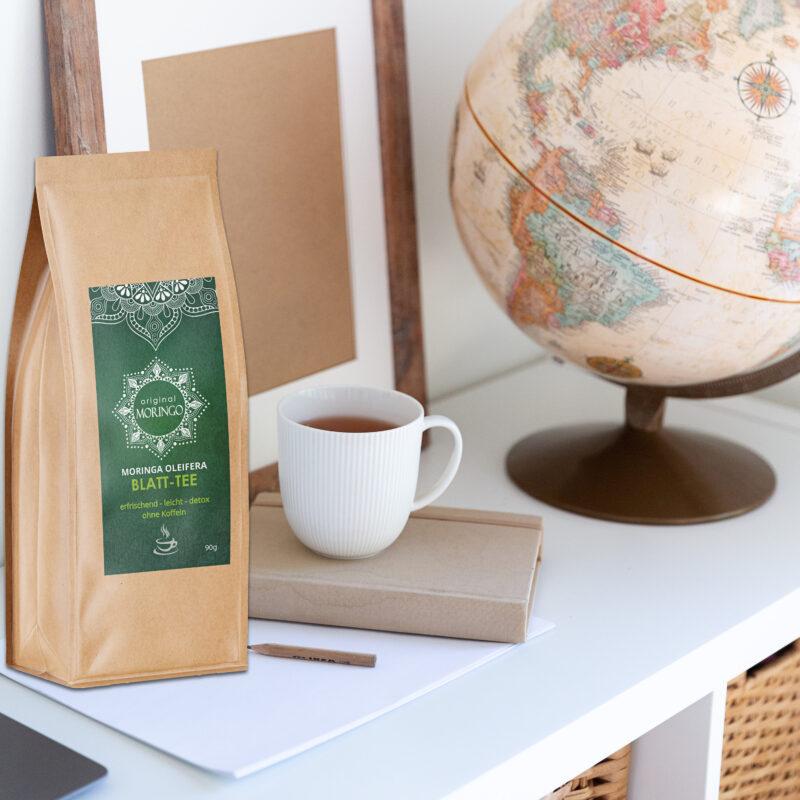 Original Moringo Tee mit Teetasse